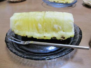 宮古島のパイナップル